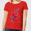 marvel-deadpool-cartoon-knockout-frauen-t-shirt-rot-xxl-rot
