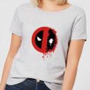 marvel-deadpool-split-splat-logo-frauen-t-shirt-grau-5xl-grau