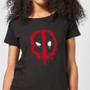 marvel-deadpool-splat-face-women-s-t-shirt-black-s-schwarz