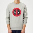 marvel-deadpool-deadpool-cracked-logo-sweatshirt-grau-s-grau
