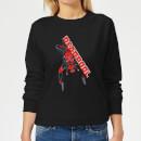 marvel-deadpool-hang-split-frauen-sweatshirt-schwarz-5xl-schwarz