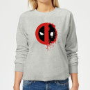 marvel-deadpool-split-splat-logo-damen-pullover-grau-5xl-grau