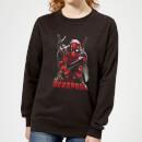 marvel-deadpool-ready-for-action-women-s-sweatshirt-black-l-schwarz, 28.99 EUR @ sowaswillichauch-de