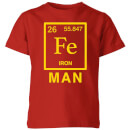 fe-man-kids-t-shirt-red-9-10-jahre-rot