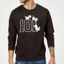 disney-101-dalmatiner-101-doggies-pullover-schwarz-4xl-schwarz