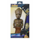 Marvel Guardians Of The Galaxy Collectable Groot 8  Cable Guy Controller & Smartphone Stand