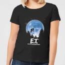 et-moon-silhouette-damen-t-shirt-schwarz-4xl-schwarz