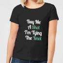 buy-me-a-shot-i-m-tying-the-knot-women-s-t-shirt-black-m-schwarz