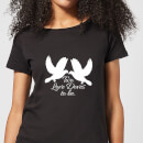 two-love-doves-women-s-t-shirt-black-xl-schwarz