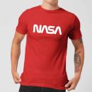 Camiseta NASA Logo - Hombre - Rojo - XXL - Rojo Rojo XXL