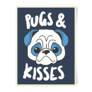 pugs-kisses-art-print