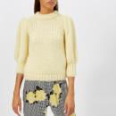 Ganni Women's The Julliard Mohair Jumper - Anise Flower