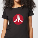 atari-circle-logo-damen-t-shirt-schwarz-s-schwarz