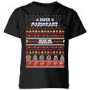 nintendo-super-mario-kart-here-we-go-kinder-t-shirt-schwarz-3-4-jahre-schwarz