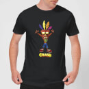 crash-bandicoot-crash-aku-aku-herren-t-shirt-schwarz-s-schwarz