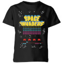 space-invaders-game-screen-kinder-t-shirt-schwarz-3-4-jahre-schwarz