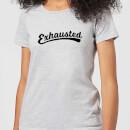 exhausted-women-s-t-shirt-grey-5xl-grau