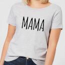 mama-women-s-t-shirt-grey-xs-grau