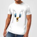 looney-tunes-tweety-gesicht-herren-t-shirt-wei-5xl-wei-