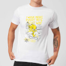 looney-tunes-tweety-pie-more-puddy-tats-herren-t-shirt-wei-3xl-wei-