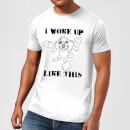 looney-tunes-i-woke-up-like-this-herren-t-shirt-wei-m-wei-