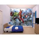 Avengers Assemble Wall Mural Multicolor