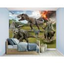 Jurassic World Fallen Kingdom Wall Mural Multicolor