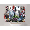 Avengers 3D Pop-Out Wall Decoration Multicolor