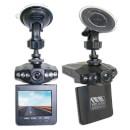 Viz Car 1080p 2.5 Inch Colour LCD Dash Cam with 270 Degree View - Black
