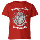 harry-potter-waiting-for-my-letter-from-hogwarts-kinder-t-shirt-rot-3-4-jahre-rot