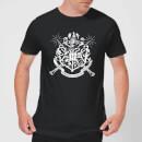 harry-potter-hogwarts-house-crest-herren-t-shirt-schwarz-s-schwarz