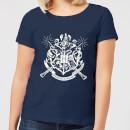 harry-potter-hogwarts-house-crest-damen-t-shirt-navy-blau-s-marineblau
