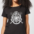 harry-potter-hogwarts-house-crest-damen-t-shirt-schwarz-s-schwarz