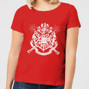 harry-potter-hogwarts-house-crest-damen-t-shirt-rot-xl-rot