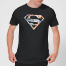 dc-originals-floral-superman-herren-t-shirt-schwarz-xl-schwarz