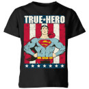 dc-originals-superman-true-hero-kinder-t-shirt-schwarz-9-10-jahre-schwarz
