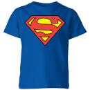 dc-originals-official-superman-shield-kinder-t-shirt-royal-blau-3-4-jahre-royal-blue