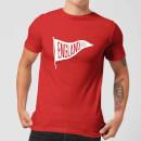 Camiseta Fútbol Inglaterra Banderín England 66 - Hombre - Rojo