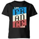 les-tricolores-kinder-t-shirt-schwarz-11-12-jahre-schwarz