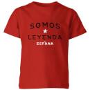 somos-leyenda-kinder-t-shirt-rot-11-12-jahre-rot