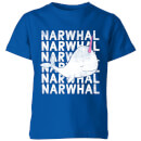 my-little-rascal-narwhal-kids-t-shirt-royal-blue-3-4-jahre-royal-blue