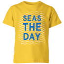 my-little-rascal-seas-the-day-kids-t-shirt-yellow-5-6-jahre-gelb