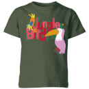 my-little-rascal-jungle-bird-kids-t-shirt-forest-green-3-4-jahre-forest-green