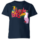 my-little-rascal-jungle-bird-kids-t-shirt-navy-7-8-jahre-marineblau
