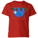 my-little-rascal-eat-sleep-eat-repeat-kids-t-shirt-red-5-6-jahre-rot