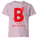my-little-rascal-b-is-for-butterfly-kids-t-shirt-baby-pink-11-12-jahre-baby-pink