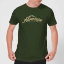 adventure-awaits-the-brave-men-s-t-shirt-forest-green-m-forest-green, 17.49 EUR @ sowaswillichauch-de