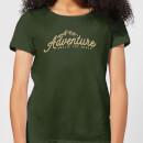 adventure-awaits-the-brave-women-s-t-shirt-forest-green-m-forest-green
