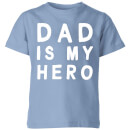 my-little-rascal-dad-is-my-hero-baby-blue-kids-t-shirt-3-4-jahre-baby-blue