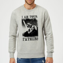 star-wars-darth-vader-i-am-your-father-lightsaber-sweatshirt-grey-xl-grau